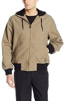 Dickies Men's Sanded Duck Thermal Lined Hooded Jacket