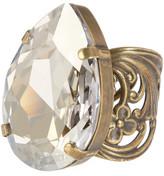 Sorrelli Teardrop Swarovski Crystal Accented Ring
