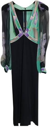 Leonard Blue Silk Dresses