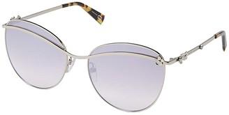 Marc Jacobs Marc Daisy 1/S (Palladium/Grey Mirror/Silver) Fashion Sunglasses