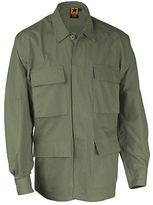 Propper Men's BDU 4-Pocket Coat Cotton