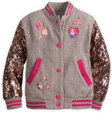 Disney Princess Sequined Varsity Jacket for Girls