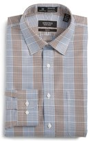 Nordstrom Men's Smartcare(TM) Trim Fit Graphic Check Dress Shirt