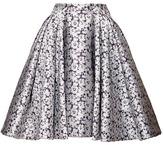 Zac Posen Camelia Jacquard Skirt
