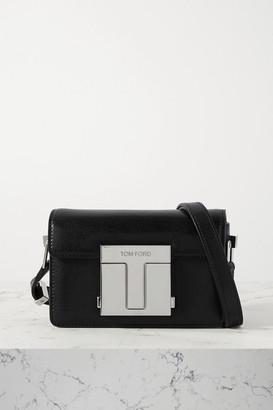 Tom Ford 001 Small Leather Shoulder Bag - Black