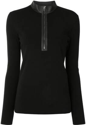 Tom Ford Fitted Zip-Up Jumper
