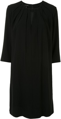 Escada Keyhole-Detail Shift Dress