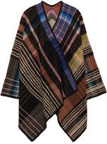 Missoni Checked Wool-blend Wrap - Black