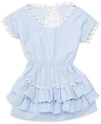Little Peixoto Little Girl's & Girl's Nissi Pom-Pom Dress