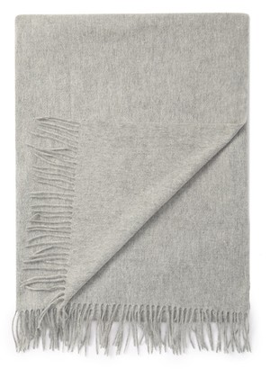 "Portolano Cashmere Throw with Fringe - 50"" x 68"""
