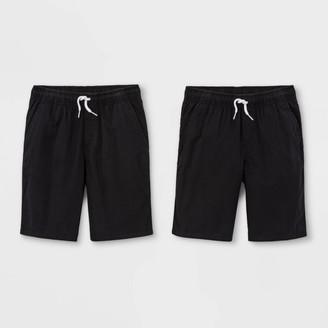 Cat & Jack Boys' 2pk Pull-On Woven Shorts - Cat & JackTM /