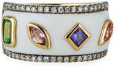 Ayva Jewelry 18k Yellow Gold Rise Agate Ring