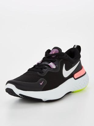 Nike React Miler - Black/Grey/Pink