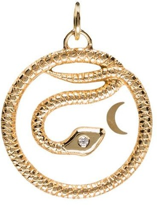 Foundrae Wholeness Baby medallion pendant