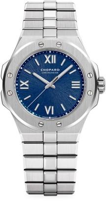 Chopard Alpine Eagle Stainless Steel & Blue-Dial Bracelet Watch