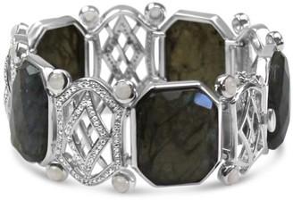 Bellus Domina Sterling Silver Labradorite Bracelet