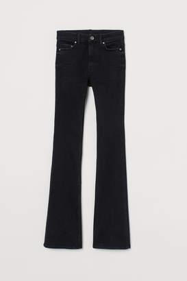 H&M Flared High Waist Jeans