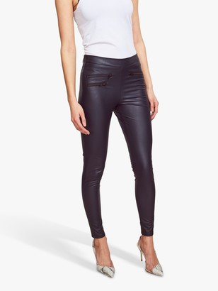 Sosandar Leather Look Premium Leggings