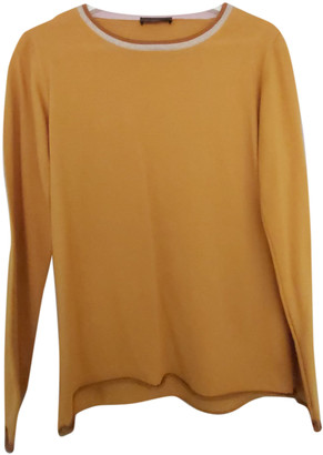 Stine Goya Yellow Wool Knitwear