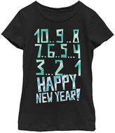 Fifth Sun Black 'Happy New Year!' Countdown Tee - Girls