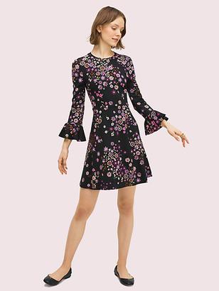Kate Spade Bora Flora Ponte Dress