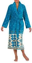 Jasmine Rose Border Wrap Robe