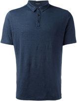 Roberto Collina plain polo shirt - men - Linen/Flax/Spandex/Elastane - 52