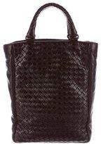 Bottega Veneta Intrecciato Paneled Leather Tote