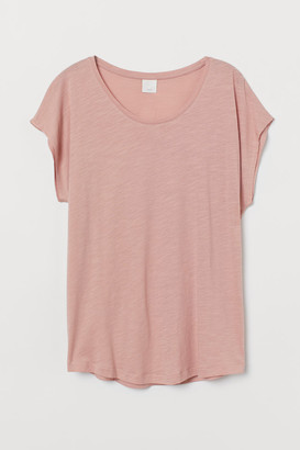 H&M Cotton-blend T-shirt