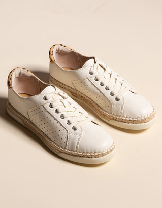 Dolce Vita Mala Espadrille Lace Up Womens Sneakers