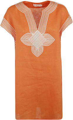 Tory Burch Solid Short Tunic