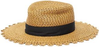 Eric Javits 'Cannes' Grosgrain Band Self Pico Brim Fedora Hat