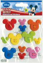 EK Success Disney Mickey Icon Adhesive Buttons