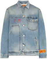 Heron Preston logo patch denim jacket