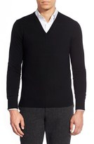 Burberry 'Dockley' V-Neck Wool Sweater