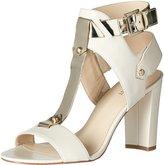 Nine West Naela Women US 8.5 Ivory Sandals
