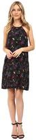Kensie Bird Floral Dress KS0K7269