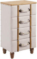 Linon Sarah Four Drawer Padded Chest Cabinet