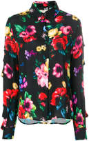 Love Moschino digital floral print shirt