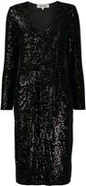 Diane von Furstenberg Melina sequined cocktail dress