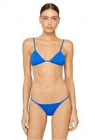 Milly Cabana Italian Solid Swim Elba Bikini Top