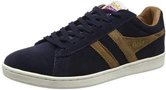 Gola Equipe Suede, Men'S Low-Top Sneakers, Blue (Navy/Tobacco), (43 EU)