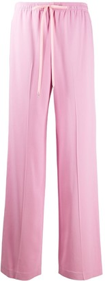 Ermanno Scervino Elasticated Waist Straight Trousers