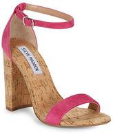 Steve Madden Carson High Heel Suede Sandals
