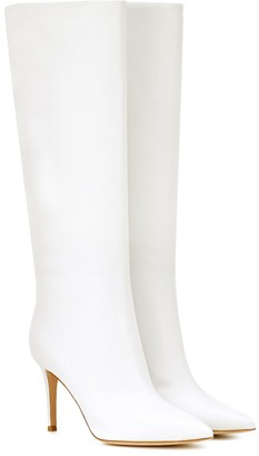 Gianvito Rossi Suzan 85 leather knee-high boots
