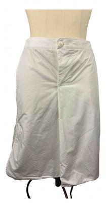 Hermes White Cotton Skirts