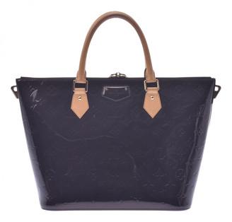 Louis Vuitton Navy Patent leather Handbags