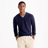 J.Crew Slim marled lambswool V-neck sweater