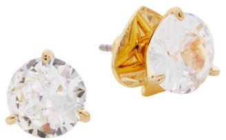 Kate Spade Brilliant Statements Crystal Trio Prong Studs
