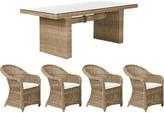 OKA Marston Table and Calbourne Chairs Set
